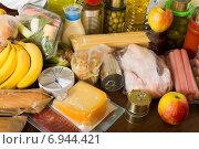 Купить «Provision with vegetables and meat», фото № 6944421, снято 20 мая 2019 г. (c) Яков Филимонов / Фотобанк Лори