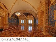 Купить «Святые сени в Грановитой палате Большого Кремлевского дворца, Москва», эксклюзивное фото № 6947145, снято 29 января 2015 г. (c) Алексей Гусев / Фотобанк Лори