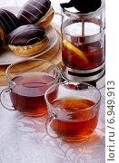Чай с лимоном. Стоковое фото, фотограф Андрей Оршак / Фотобанк Лори