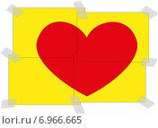 Открытка на день святого Валентина. Стоковая иллюстрация, иллюстратор Dmitry Polnikov / Фотобанк Лори