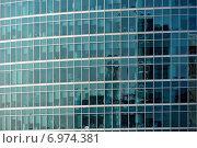 Москва-Сити, фрагмент фасада (2014 год). Редакционное фото, фотограф Alexnios / Фотобанк Лори