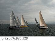Яхты (2014 год). Редакционное фото, фотограф Сергей Киселев / Фотобанк Лори