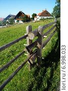 Баварская деревня (2014 год). Стоковое фото, фотограф Юлия Алексеева / Фотобанк Лори