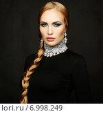 Купить «Photo of beautiful woman with magnificent hair. Perfect makeup», фото № 6998249, снято 15 декабря 2013 г. (c) Ingram Publishing / Фотобанк Лори