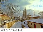 Бахчисарай зимой (2015 год). Стоковое фото, фотограф Николай Котышев / Фотобанк Лори