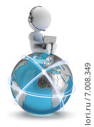 Купить «Глобальная сеть», иллюстрация № 7008349 (c) Anatoly Maslennikov / Фотобанк Лори