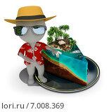 Купить «Кусочек рая», иллюстрация № 7008369 (c) Anatoly Maslennikov / Фотобанк Лори