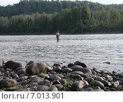 Купить «Река Бия, Алтай, Россия», фото № 7013901, снято 21 апреля 2018 г. (c) Александр Карпенко / Фотобанк Лори