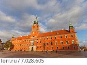 Купить «Королевский Замок в Варшаве, Польша. Построен в 1618 г., реконструирован в 1988 г. Объект ЮНЕСКО», фото № 7028605, снято 20 октября 2014 г. (c) Иван Марчук / Фотобанк Лори