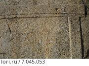 Купить «Орнамент древнего дольмена», фото № 7045053, снято 23 февраля 2015 г. (c) Игорь Архипов / Фотобанк Лори