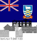 Купить «Фолклендские острова», иллюстрация № 7047133 (c) Сергей Скрыль / Фотобанк Лори