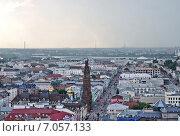 Купить «Казань. Панорама города», эксклюзивное фото № 7057133, снято 5 июля 2012 г. (c) Илюхина Наталья / Фотобанк Лори