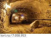 Горные выроботки шахты. Стоковое фото, фотограф Виталий Шубарин / Фотобанк Лори