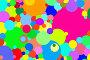 Разноцветные круги, абстрактный фон, эксклюзивная иллюстрация № 7068485 (c) Юрий Морозов / Фотобанк Лори