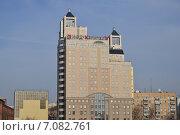 Краснопресненская набережная, 6. Бизнес-центр Токо Тауэр. Москва (2015 год). Редакционное фото, фотограф lana1501 / Фотобанк Лори
