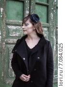 Купить «Хеллоуин, макияж девушки», фото № 7084025, снято 30 октября 2013 г. (c) Наталья Степченкова / Фотобанк Лори