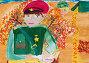 Купить «Детский рисунок, посвященный 9 мая», эксклюзивная иллюстрация № 7096045 (c) FotograFF / Фотобанк Лори