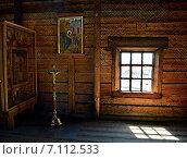 Иконы церкви Покрова Богородицы, Кижи. Редакционное фото, фотограф Мариана Бэлэнеску / Фотобанк Лори