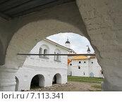 Средневековые стены. Стоковое фото, фотограф Геннадий Георгевич Руденко / Фотобанк Лори