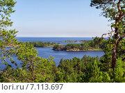 Летний пейзаж, Карелия. Стоковое фото, фотограф олег данильченко / Фотобанк Лори