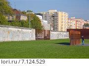 Купить «Мемориал Берлинской стены, Берлин, Германия», фото № 7124529, снято 6 октября 2014 г. (c) Анастасия Улитко / Фотобанк Лори