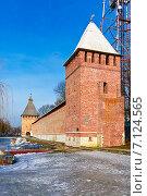 Купить «Город Смоленск. Башня Бублейка», фото № 7124565, снято 26 февраля 2015 г. (c) Зобков Георгий / Фотобанк Лори