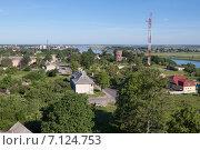 Купить «Советск с высоты птичьего полета», фото № 7124753, снято 18 июня 2010 г. (c) Smolin Ruslan / Фотобанк Лори
