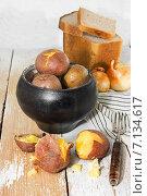 Купить «Домашняя картошка», фото № 7134617, снято 16 марта 2015 г. (c) Наталья Осипова / Фотобанк Лори