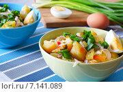 Салат картофельный деревенский. Стоковое фото, фотограф ирина реброва / Фотобанк Лори