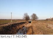 Купить «Полесский пейзаж», эксклюзивное фото № 7143045, снято 17 марта 2015 г. (c) Валерий Акулич / Фотобанк Лори