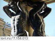 Купить «Атланты Эрмитажа. Санкт-Петербург», эксклюзивное фото № 7158013, снято 22 марта 2015 г. (c) Александр Алексеев / Фотобанк Лори