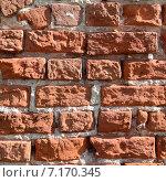 Старая кирпичная стена. Стоковое фото, фотограф Анфимов Леонид / Фотобанк Лори