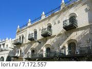 Кованые балконы, Иерусалим. Стоковое фото, фотограф Екатерина Высотина / Фотобанк Лори