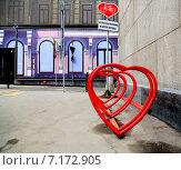 Парковка для велосипедов. Стоковое фото, фотограф Алена Перфилова / Фотобанк Лори