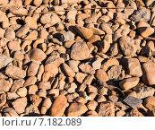 Каменная поверхность, фон из камней. Стоковое фото, фотограф Илья Алексеев / Фотобанк Лори