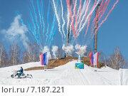 Купить «XVIII Сурдолимпийские зимние игры - Магнитогорск», фото № 7187221, снято 29 марта 2015 г. (c) Василий Уринцев / Фотобанк Лори