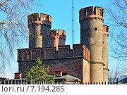 Купить «Фридрихсбургские ворота - форт Кёнигсберга. Калининград (до 1946 года Кёнигсберг), Россия», фото № 7194285, снято 28 октября 2012 г. (c) Сергей Трофименко / Фотобанк Лори