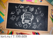 Купить «Composite image of education doodles», фото № 7199609, снято 4 апреля 2020 г. (c) Wavebreak Media / Фотобанк Лори