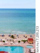 Купить «Отдых на пляже Майами, США», фото № 7200213, снято 23 ноября 2011 г. (c) vale_t / Фотобанк Лори