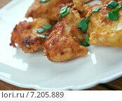 Купить «Жареная курица (Buffalo Popcorn Chicken)», фото № 7205889, снято 24 марта 2015 г. (c) Александр Fanfo / Фотобанк Лори