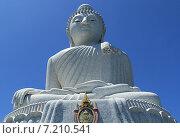Купить «Большой Будда на острове Пхукет. Таиланд (высота 45 м.)», фото № 7210541, снято 20 февраля 2015 г. (c) Алексей Сварцов / Фотобанк Лори