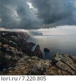 Крымское побережье осенью. Стоковое фото, фотограф Фёдор Ветров / Фотобанк Лори