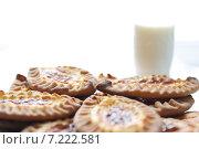 Купить «Карельские и финские пирожки с картофелем», фото № 7222581, снято 9 февраля 2013 г. (c) Dorokhova Tatiana / Фотобанк Лори