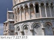 Купить «Pisa's Leaning Tower, Tuscany Italy», фото № 7227813, снято 16 января 2019 г. (c) BE&W Photo / Фотобанк Лори