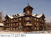Купить «Poland, Krynica, The guest-house Witoldowka», фото № 7227861, снято 22 августа 2019 г. (c) BE&W Photo / Фотобанк Лори