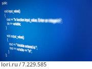 Купить «Код программирования», фото № 7229585, снято 7 апреля 2015 г. (c) Иван Михайлов / Фотобанк Лори