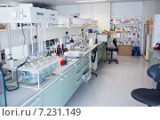 Купить «Close up of the laboratory», фото № 7231149, снято 8 августа 2014 г. (c) Wavebreak Media / Фотобанк Лори
