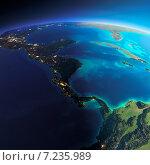 Купить «Планета Земля. Страны Центральной Америки», иллюстрация № 7235989 (c) Антон Балаж / Фотобанк Лори