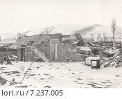 Купить «Маштабные разрушения  после землетрясения 7 декабря 1988. Армения, Налбанд», эксклюзивное фото № 7237005, снято 9 января 2019 г. (c) Emelinna / Фотобанк Лори