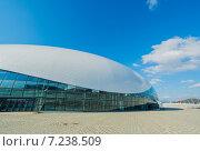 """Сочи. Ледовый дворец """"Большой"""" (2014 год). Редакционное фото, фотограф Руслан Нунаев / Фотобанк Лори"""